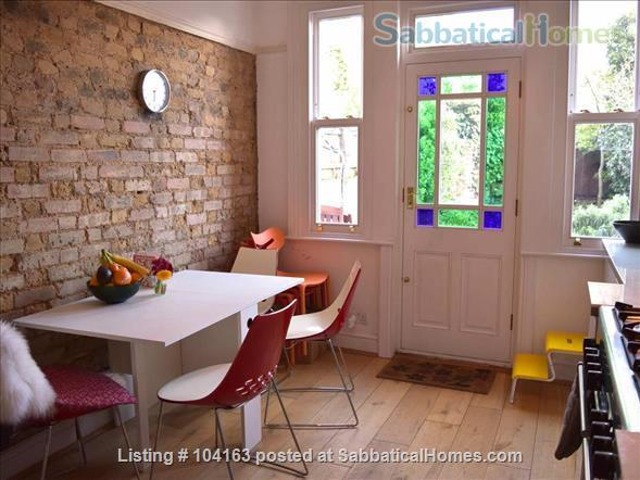 Charming 3 bedroom, 2 reception Victorian terraced house with garden, includes all taxes, water, broadband and weekly cleaning. Home Rental in Greater London, England, United Kingdom 1