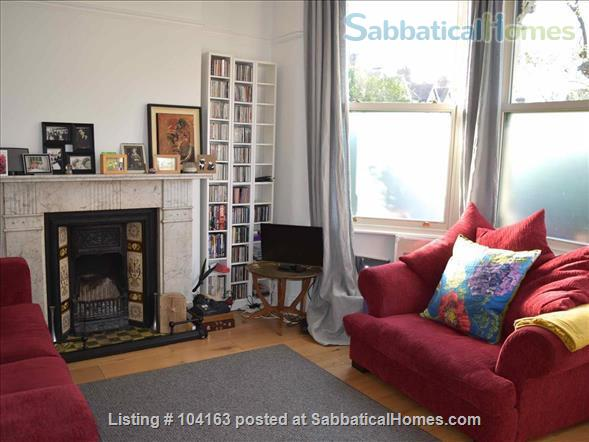 Charming 3 bedroom, 2 reception Victorian terraced house with garden, includes all taxes, water, broadband and weekly cleaning. Home Rental in Greater London, England, United Kingdom 2