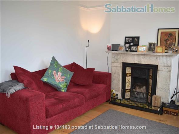 Charming 3 bedroom, 2 reception Victorian terraced house with garden, includes all taxes, water, broadband and weekly cleaning. Home Rental in Greater London, England, United Kingdom 3