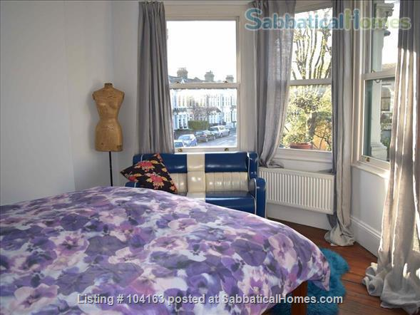 Charming 3 bedroom, 2 reception Victorian terraced house with garden, includes all taxes, water, broadband and weekly cleaning. Home Rental in Greater London, England, United Kingdom 5