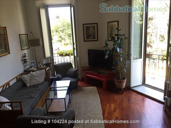 Wonderful apartment with view on the park! Home Rental in Rome, Lazio, Italy 1