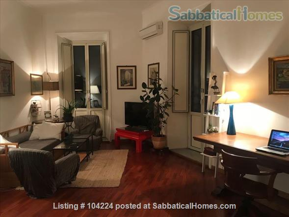 Wonderful apartment with view on the park! Home Rental in Rome, Lazio, Italy 0