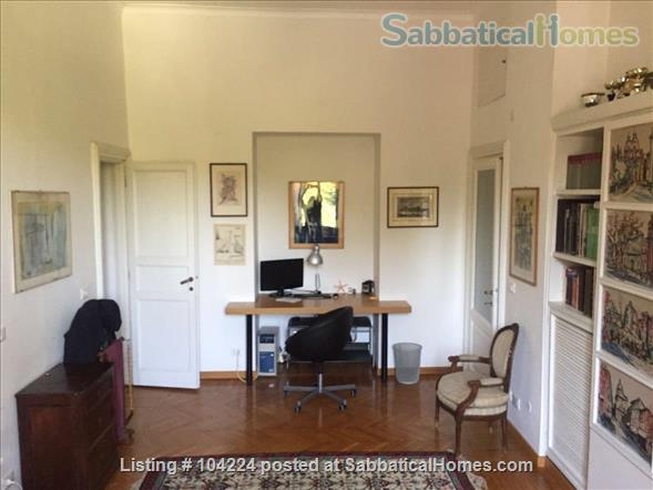 Wonderful apartment with view on the park! Home Rental in Rome, Lazio, Italy 5