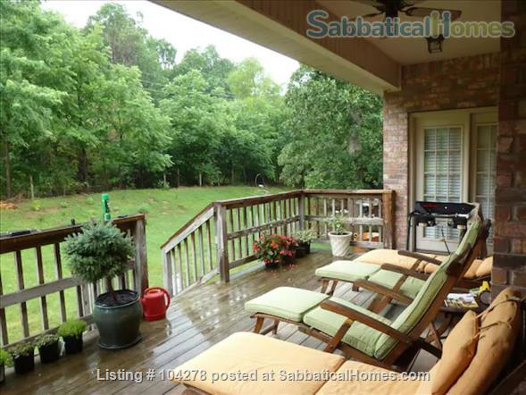 well-appointed 3000 sqft tranquil home with a view of Boston Mountains Home Rental in Fayetteville, Arkansas, United States 9