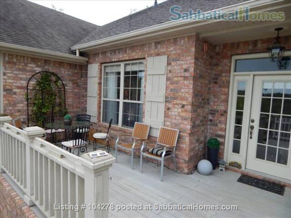 well-appointed 3000 sqft tranquil home with a view of Boston Mountains Home Rental in Fayetteville, Arkansas, United States 8
