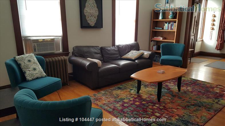 Spacious Two Bedroom, 6-room  Apartment, Steps to Davis Sq and T Home Rental in Cambridge, Massachusetts, United States 7