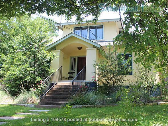 3 Bedroom 1920s Charming House 15 Minute Walk to Campus Home Rental in Austin, Texas, United States 1
