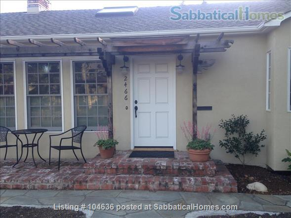 Light-filled and tranquil two-bedroom, two-bath home 3 miles from Stanford University, Palo Alto, CA Home Rental in Palo Alto, California, United States 1