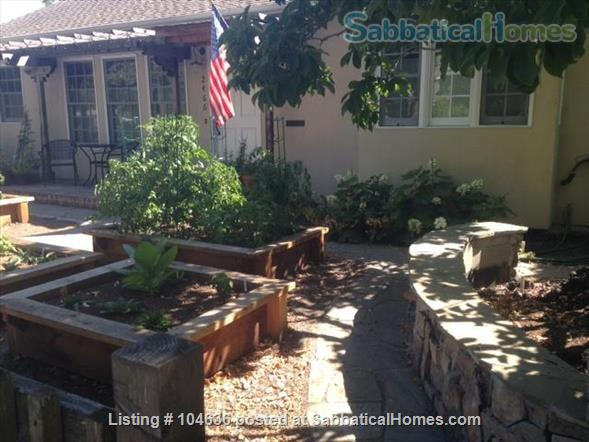 Light-filled and tranquil two-bedroom, two-bath home 3 miles from Stanford University, Palo Alto, CA Home Rental in Palo Alto, California, United States 0