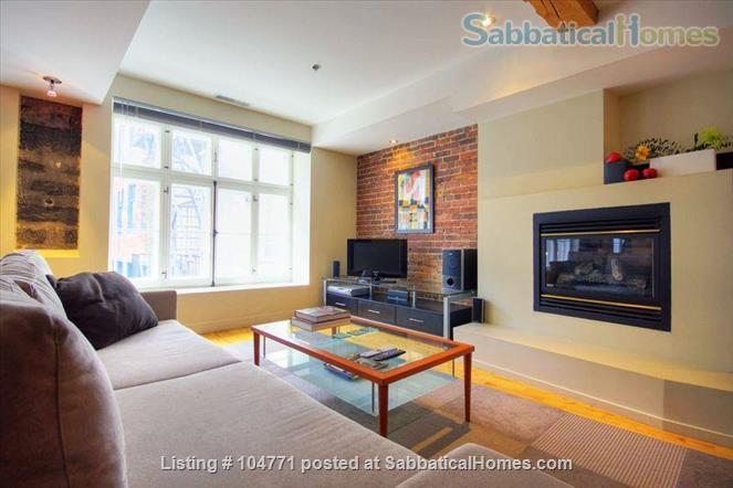 Peaceful, light filled, furnished apartment in Old Montreal Home Rental in Montreal, Quebec, Canada 1