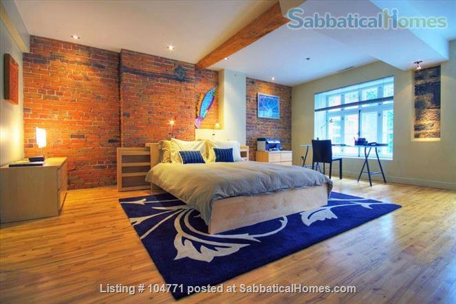 Peaceful, light filled, furnished apartment in Old Montreal Home Rental in Montreal, Quebec, Canada 0