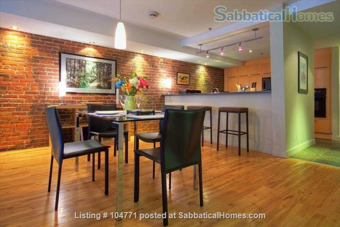 Peaceful, light filled, furnished apartment in Old Montreal Home Rental in Montreal, Quebec, Canada 3