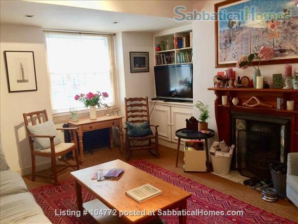 Lovely garden apartment in Georgian house Home Rental in Greater London, England, United Kingdom 1