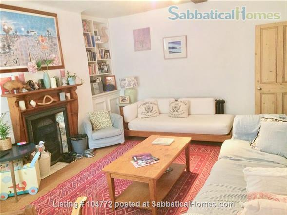 Lovely garden apartment in Georgian house Home Rental in Greater London, England, United Kingdom 0
