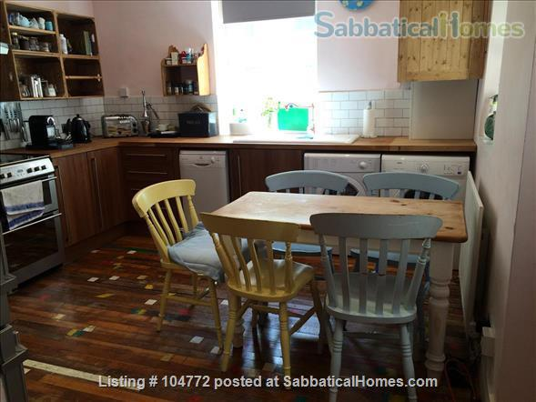 Lovely garden apartment in Georgian house Home Rental in Greater London, England, United Kingdom 2