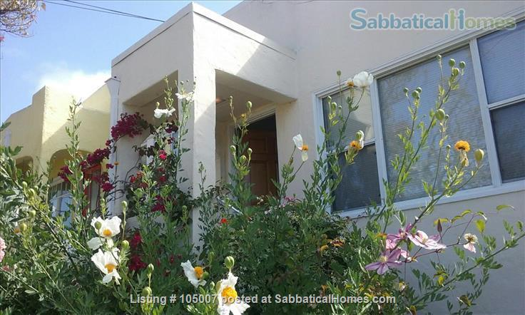 Beautiful small house in Berkeley annex, separate work studio, private  garden 10 minutes from U.C. campus Home Rental in Albany, California, United States 7