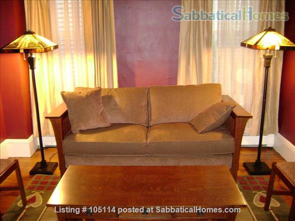 Fully furnished 1BR in Harvard Square with off-street parking space Home Rental in Cambridge, Massachusetts, United States 1