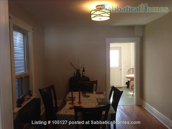 Furnished home with a beautiful park across the street Home Rental in Toronto 3