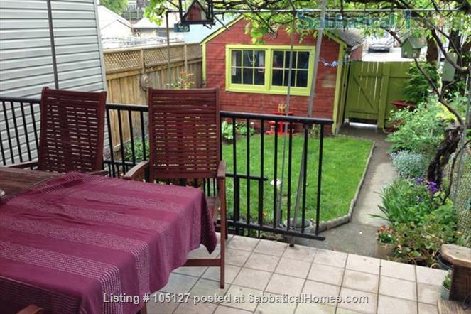 Furnished home with a beautiful park across the street Home Rental in Toronto 2