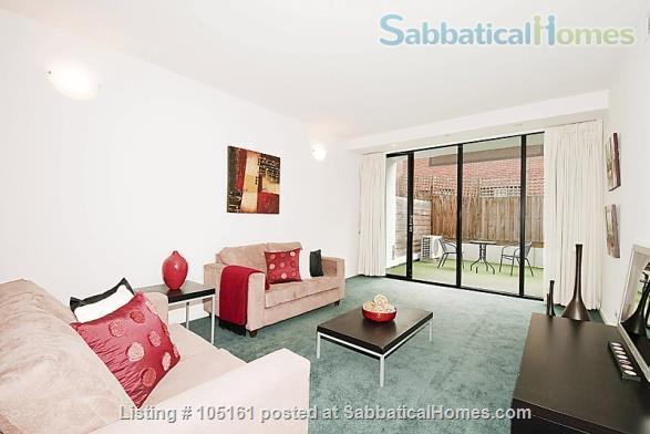 Fully furnished 2BR apartment in Melbourne - walk to university / hospitals Home Rental in Parkville, Victoria, Australia 0