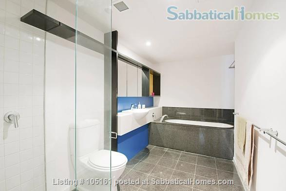 Fully furnished 2BR apartment in Melbourne - walk to university / hospitals Home Rental in Parkville, Victoria, Australia 3
