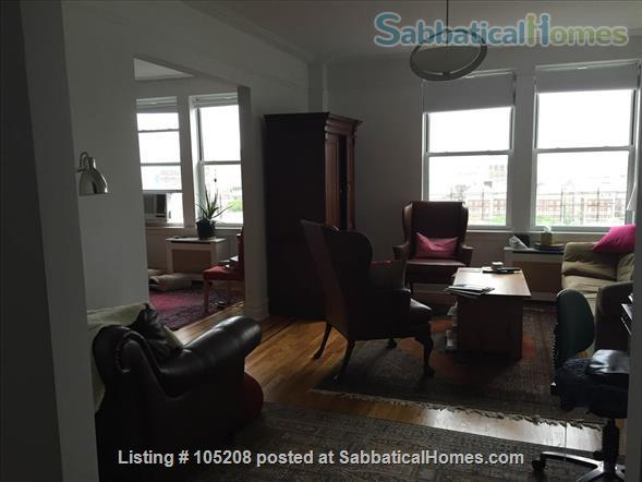 Sunny 3 bedroom apartment across the street from Columbia/Barnard Home Rental in New York, New York, United States 2