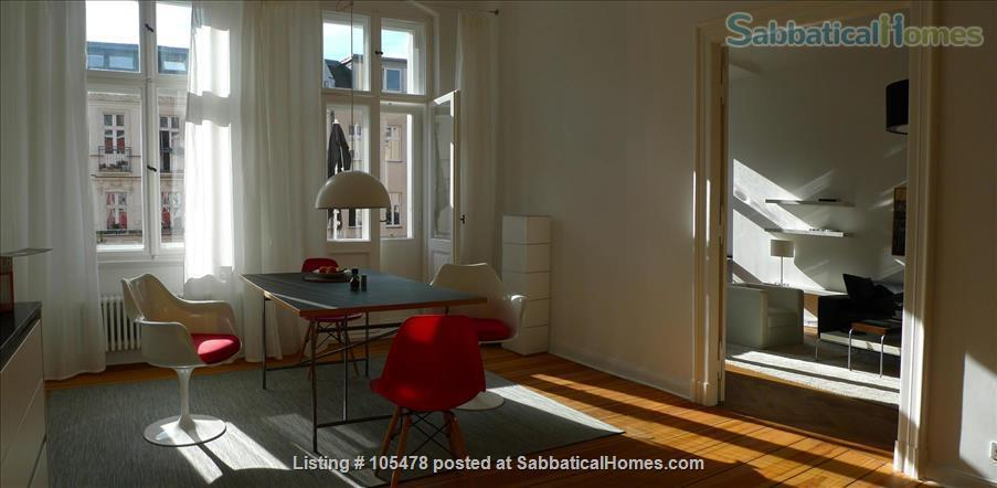 SPACIOUS MODERN STYLE  CONDO - PRIME AREA IN SCHÖNEBERG Home Rental in Berlin, Berlin, Germany 1
