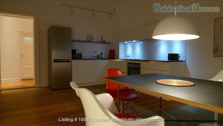 SPACIOUS MODERN STYLE  CONDO - PRIME AREA IN SCHÖNEBERG Home Rental in Berlin, Berlin, Germany 4