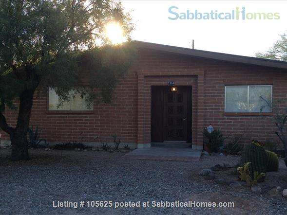 Rural Retreat 3 miles from Campus:  Furnished 4 BR, 3 Bath, Study, 1 Acre in Richland Heights West  Home Rental in Tucson, Arizona, United States 1