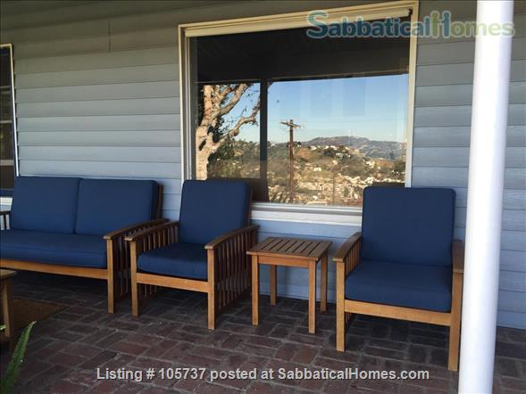 Peaceful Little House in the Hills Close to Occidental, USC, UCLA, Cal Tech, etc. Home Rental in Los Angeles, California, United States 8
