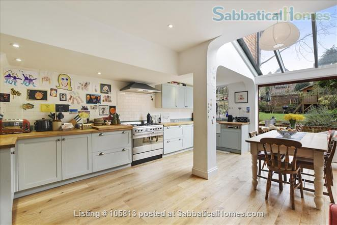 Lovely family house in Central North Oxford Home Rental in Oxford, England, United Kingdom 1