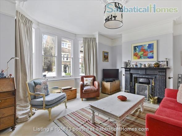 Lovely family house in Central North Oxford Home Rental in Oxford, England, United Kingdom 3