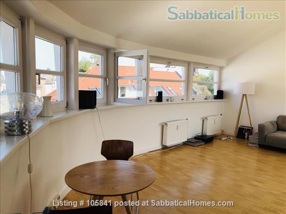 Beautiful and quiet penthouse in Berlin Mitte Home Rental in Berlin, Berlin, Germany 2