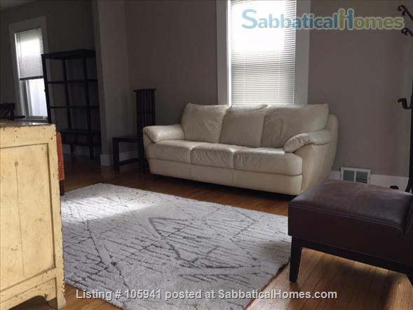 Sunny spacious single-family house (furnished!) in great Cambridge location Home Rental in Cambridge, Massachusetts, United States 3