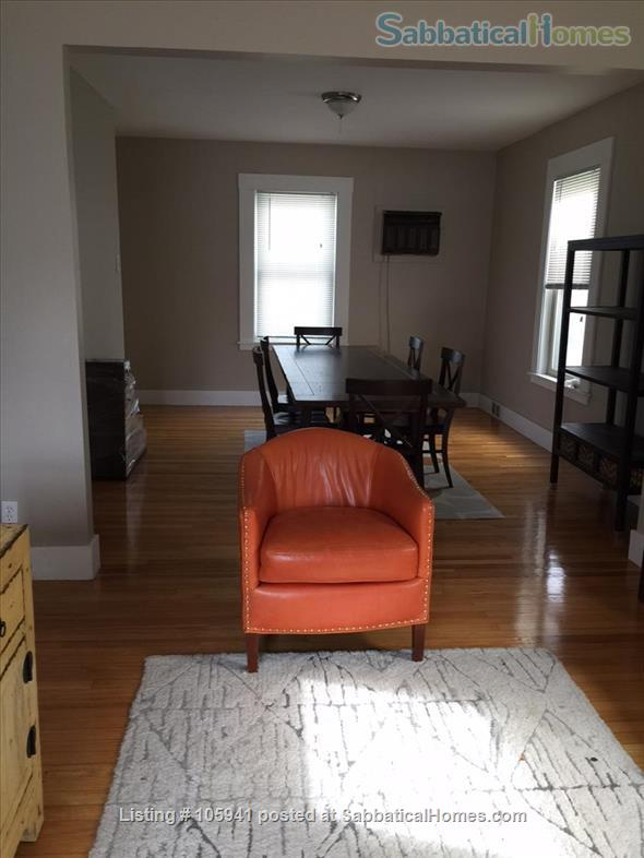 Sunny spacious single-family house (furnished!) in great Cambridge location Home Rental in Cambridge, Massachusetts, United States 4