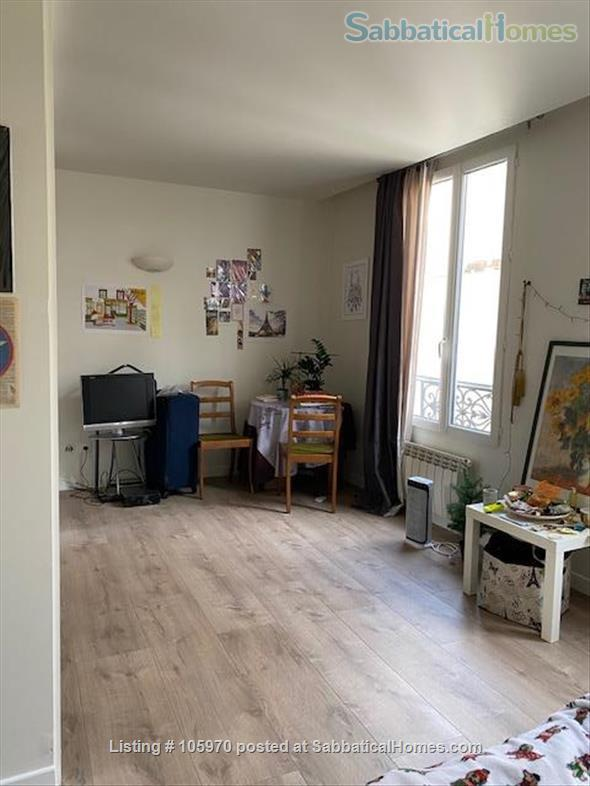 Quiet 1 room flat in  Paris 17th Home Rental in Paris, IDF, France 3