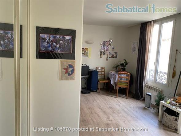 Quiet 1 room flat in  Paris 17th Home Rental in Paris, IDF, France 5