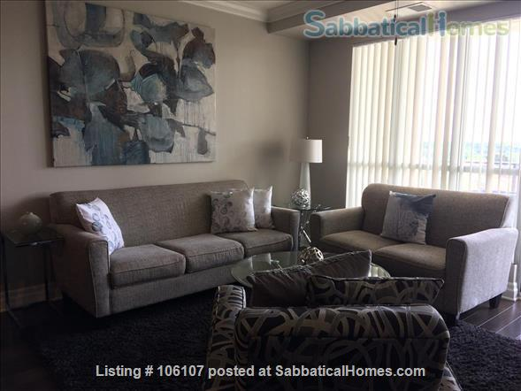 Fully Furnished & Equipped Exec. Condo-Riverhouse-Downtown Guelph  Home Rental in Guelph, Ontario, Canada 1