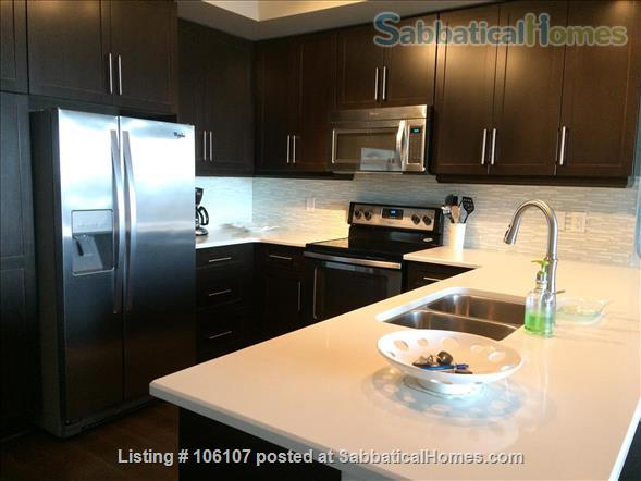 Fully Furnished & Equipped Exec. Condo-Riverhouse-Downtown Guelph  Home Rental in Guelph, Ontario, Canada 2