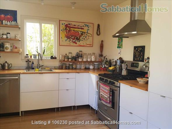 Private, Furnished 2 BR/1.5 BA Garden Apartment available for 1-2 years Home Rental in Berkeley 1 - thumbnail