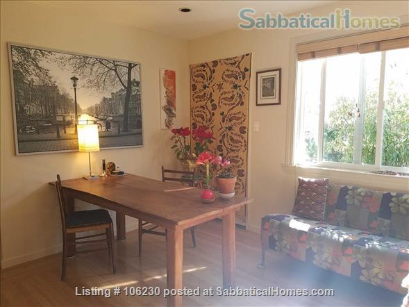 Private, Furnished 2 BR/1.5 BA Garden Apartment available for 1-2 years Home Rental in Berkeley 0