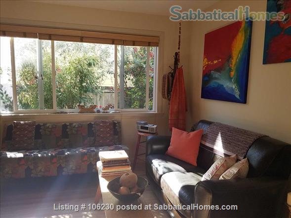 Private, Furnished 2 BR/1.5 BA Garden Apartment available for 1-2 years Home Rental in Berkeley 2