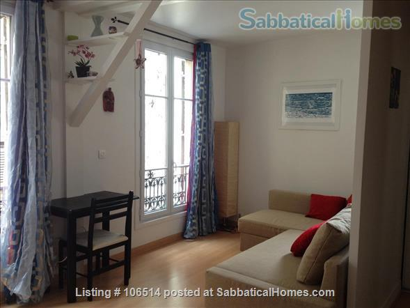 Quite, bright and just  renewed apartment in Paris Home Rental in Paris, Île-de-France, France 1