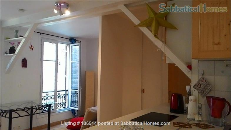 Quite, bright and just  renewed apartment in Paris Home Rental in Paris, Île-de-France, France 4