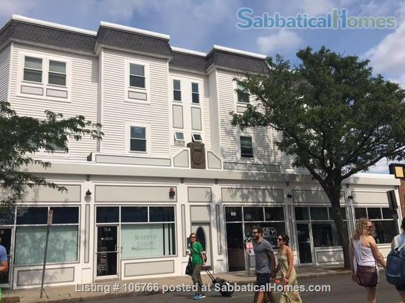Furnished 2-Bedroom Condo in the Heart of Davis Square - near Tufts, Harvard - Utilities included - Available April 2021 Home Rental in Somerville, Massachusetts, United States 1