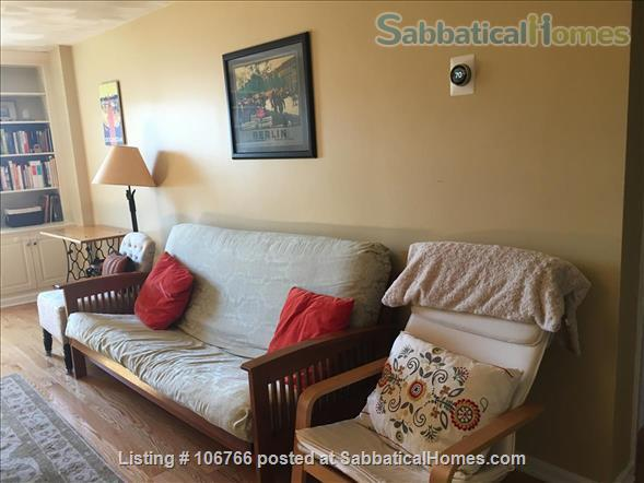 Furnished 2-Bedroom Condo in the Heart of Davis Square - near Tufts, Harvard - Utilities included - Available April 2021 Home Rental in Somerville, Massachusetts, United States 0