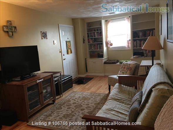 Furnished 2-Bedroom Condo in the Heart of Davis Square - near Tufts, Harvard - Utilities included - Available April 2021 Home Rental in Somerville, Massachusetts, United States 2