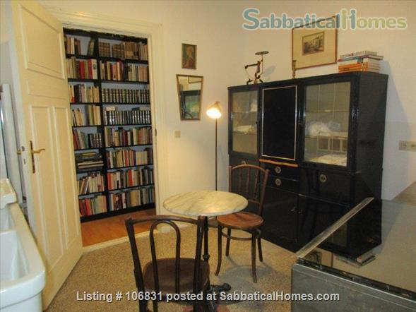 Elegant Art Nouveau flat with grand piano and large library - 3 rooms Home Rental in Berlin, Berlin, Germany 0
