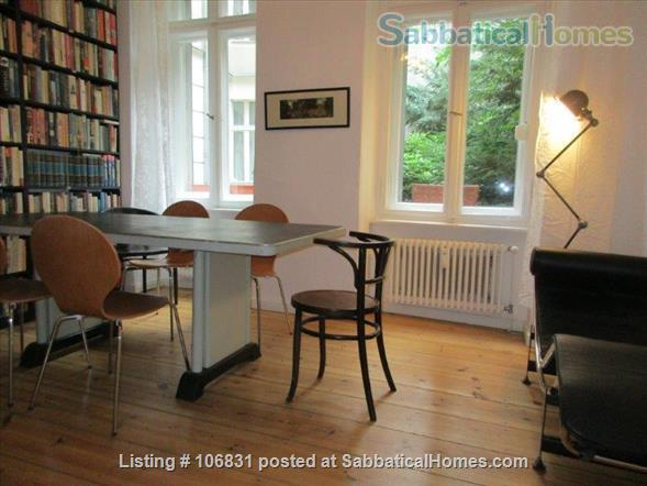 Elegant Art Nouveau flat with grand piano and large library - 3 rooms Home Rental in Berlin, Berlin, Germany 2