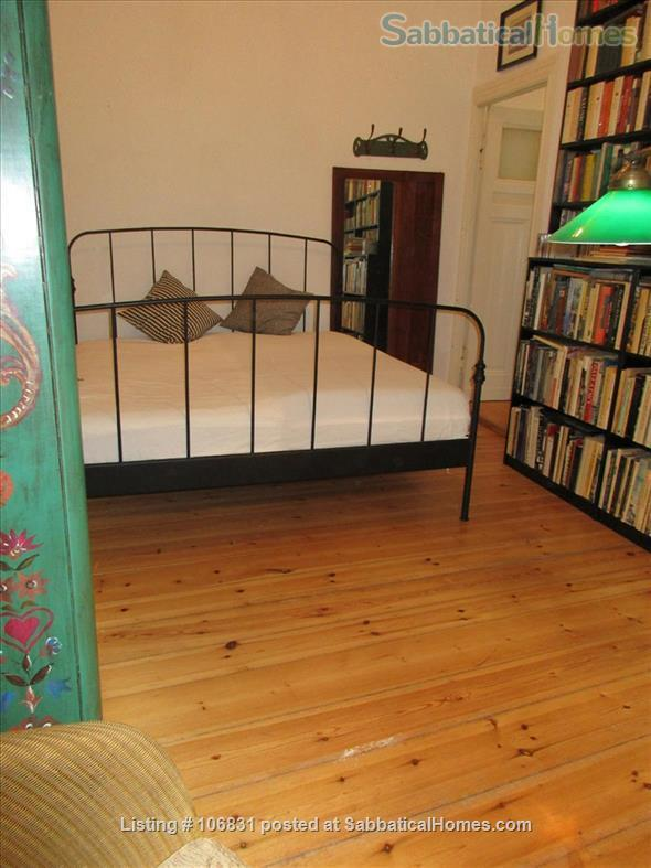 Elegant Art Nouveau flat with grand piano and large library - 3 rooms Home Rental in Berlin, Berlin, Germany 5